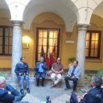 Lo scrittore Francesco Recami  apre il percorso letterario della Questura di Palermo